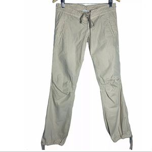 James Perse Standard Twill Khaki Pants Tie Hems